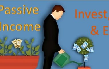 invest wait and earn man watering