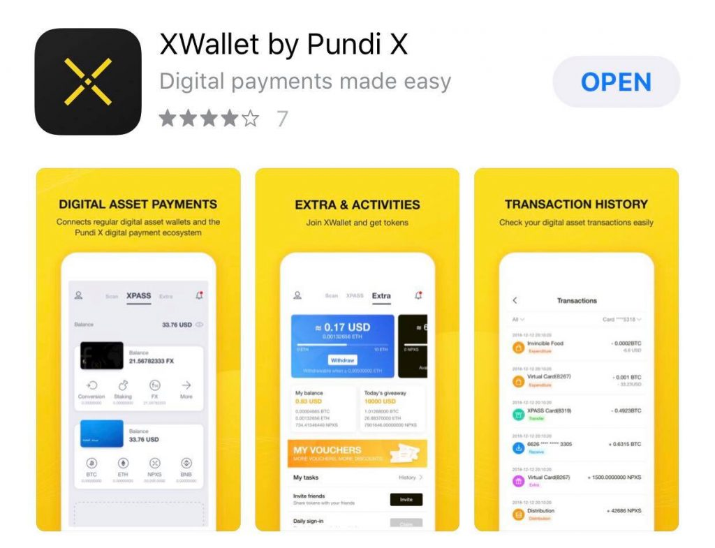 Download XWallet Here